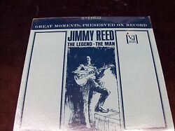 Jimmy Reed The Legend - The Man Lp 1990 Sealed Paul Howlin Wolf Otis Son House