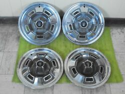 67 68 69 Plymouth Mag Hub Caps 14 Set Of 4 Wheel Covers 1967 1968 1969 Hubcaps