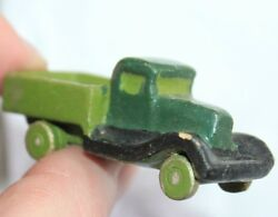 Russian Antique Primitive Old Toys Car Lorry Polutorka Zil Zis Clay Hand Carved