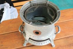 Vintage Russian Stove Made In Ussr Moscow Military H=22cm D=24cm
