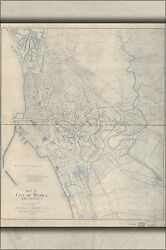 Poster Many Sizes Map Of City Of Manila Philippines 1919