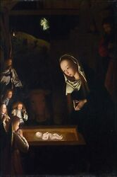 Poster, Many Sizes Birth Of Jesus Christ By Geertgen Tot Sint Jans C1490