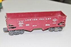 Lionel 6456 Lehigh Valley Dump Car Train O For Parts Us Seller Fast Shipping