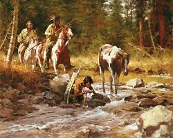 Howard Terpning - Nectar Of The Gods - Signed And Numbered Giclee Canvas