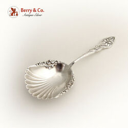 Narcissus Bon Bon Spoon Or Nut Scoop Unger Sterling Silver