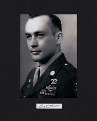 Galen Kittleson Great Raid Vietnam Joined Green Beret At 45 Years Old Signed