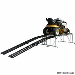 Black Widow Lawn-tractor-stand Lawn Tractor Service Stand