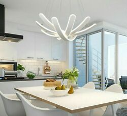 Ceiling Dimmable Lamp Lights Modern Hanging Pendants With Remote Control Fixture