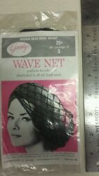 Vintage Hair Nets / Wave Nets Unique Old Hard To Find Retro Items Nice