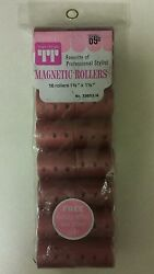 Vintage Hair Rollers Magnetic Unique Old Hard To Find Retro Items Nice