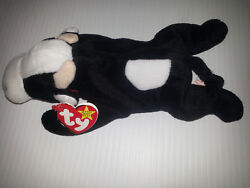 Daisy The Cow Ty Beanie Baby Retired Plush P.v.c Pellets Multiple Tag Errors