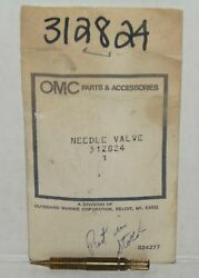 New Omc Outboard Marine Corp Boat High Speed Needle Valve Part No. 312824