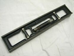 Minty Stanley No. 37g 12 Inch Cast Iron Machinist Level Tool 37 G 3-bubble