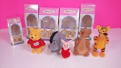 Young Epoch Disney Perky Doll Winnie The Pooh Piglet Tigger Calico Critter Japan