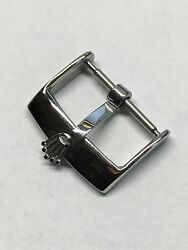 Vintage Stainless Steel Buckle 16mm. For Rolex Strap