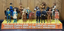 Vintage Marx Johnny Westand039s Best Of The West Collection Store Display Cash Only