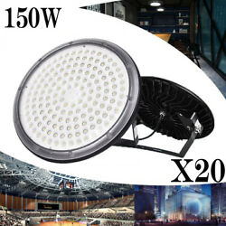 20X 150W Outdoor IP67 UFO LED High Bay Light lamp Factory Warehouse Industrial