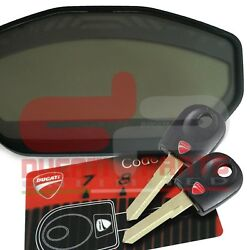 Ducati Monster M821 Lost No Key Code Card Recovery Programming Service Solution