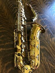 Conn Saxaphone, Excellent Condition, Mother Of Pearl Keys, Engraved W/case