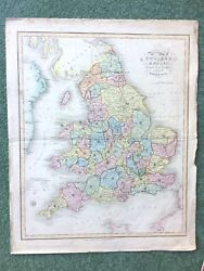 Antique Map By James Duncan From A Complete County Atlas Of England And Wales