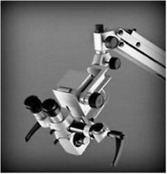5 Step-dental Wall Fitting Microscope/manual Focus/with Ccd Camera,led Monitor