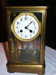Spaulding And Company Marti Crystal Regulator Chicago And Paris Clock