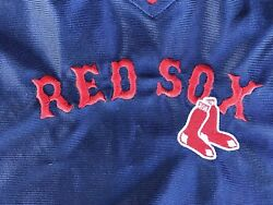 RED SOX BOSTON VINTAGE LEE SPORT WS CHAMPS STITCHED Basketball Jersey Sz S BID