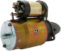 New 12 Volt Usa Built Starter Fits Massey Ferguson To-20 To-30 To-35 91014448n