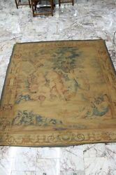 Rare 17th Century Italian Antique ARAZZIA BARBERINI Tapestry  82