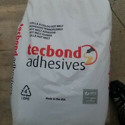 (6) 44 lb. Techbond Hot Glue Melt Pellets bags New!! read desc see pic USA MADE!