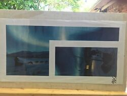 Lights On The Iditarod Trail, Charles Gause, Limited Edition Print 1992