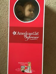 AMERICAN GIRL Maryellen Doll And Dog Scooter New In Boxes Bonus: AG Red Bag