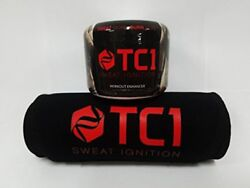 Waist Belt Bundle With Tc1 Advanced Topical Sweat Workout Enhancer With Caps