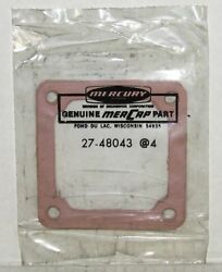 New Mercury Marine Boat Manifold End Cap Gasket Pack Of 4 Part No. 27-48043