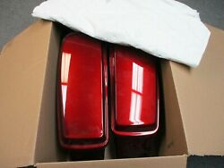Harley Davidson Oem New Red Saddle Bags With Lids Red Gold Pin Stripe 14-19