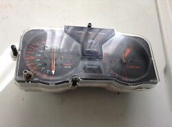 Motorcycle Instrument Cluster Speedometer To 150 Mph, Tach And Temperature Gauge