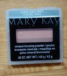 Mary Kay® Mineral Bronzing Powder SANDSTONE New! Discontinued Bronzer 2-Tone