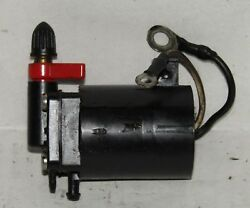 Omc Outboard Marine Corp Boat Primer Solenoid Assembly Part No. 434326