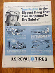 1959 U S Royal Tires Ad Tom Mccahill Americaand039s Most Famous Test Driver