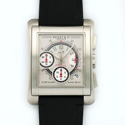 Bedat And Co. Stainless Steel No.7 Chronograph Watch