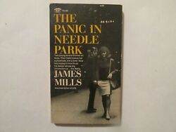 The Panic In Needle Park Signed James Mills Heroin Drugs Narcotics Pacino