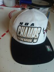 1997-1998 Chicago Bulls Nba Champs Starter Snapback Hat New With Tag