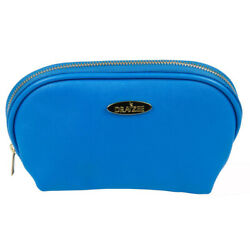 NEW Deep Blue Draizee PU Leather Cosmetic and Travel Accessory Bag $8.26
