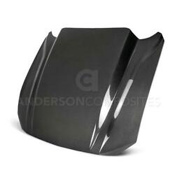 18-19 Ford Mustang 4 Inch Cowl Double Sided Hood Ac-hd18fdmu-cj-ds