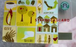 Starbucks Card - Aspire 2006 - Limited Edition Rare And Retired
