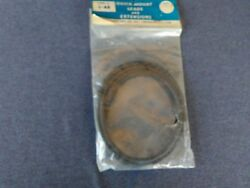 Vintage Nos Quick Mount Radio Antenna 48and039and039 Long Lead And Extension L-48 1950s 80s