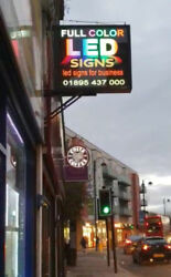 Programmable Double Sided Outdoor Led Sign Board
