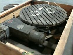 50 Used W.b. Knight Powered Rotary Table For Boring Mills And Large Machines