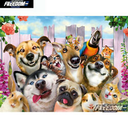 Dog cat 5D Diamond Painting Full Drill DIY Embroidery Home Decor