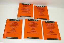 2000 LHS 300M Concorde Intrepid Factory Service Manuals   GOOD USED CONDITION